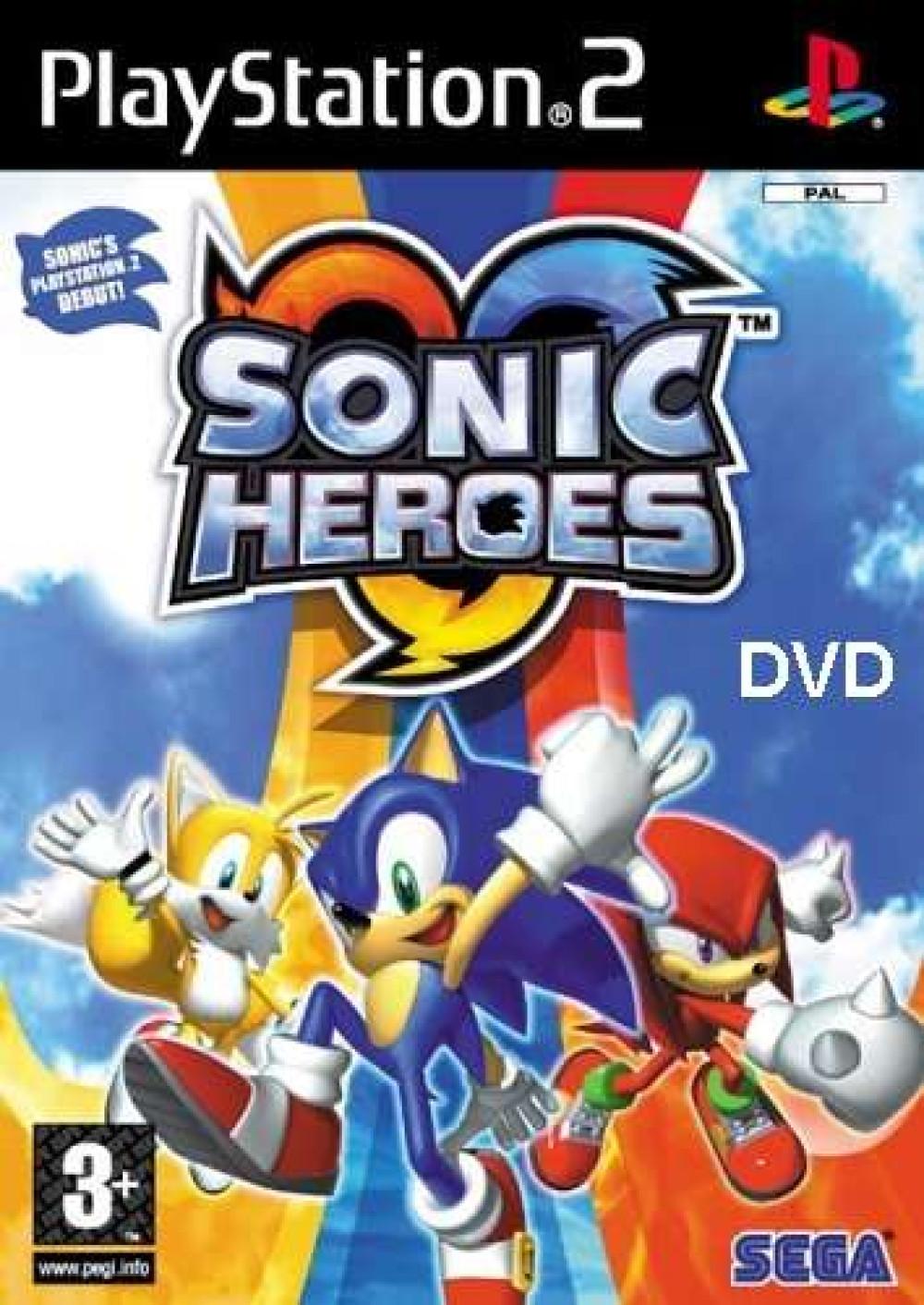 Sonic Heroes PS2