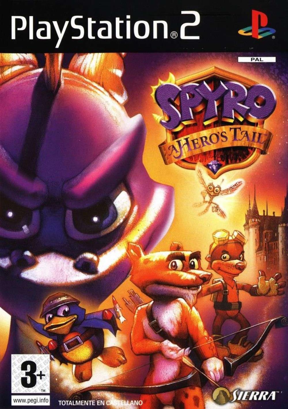 Spyro A Hero's Tail PS2
