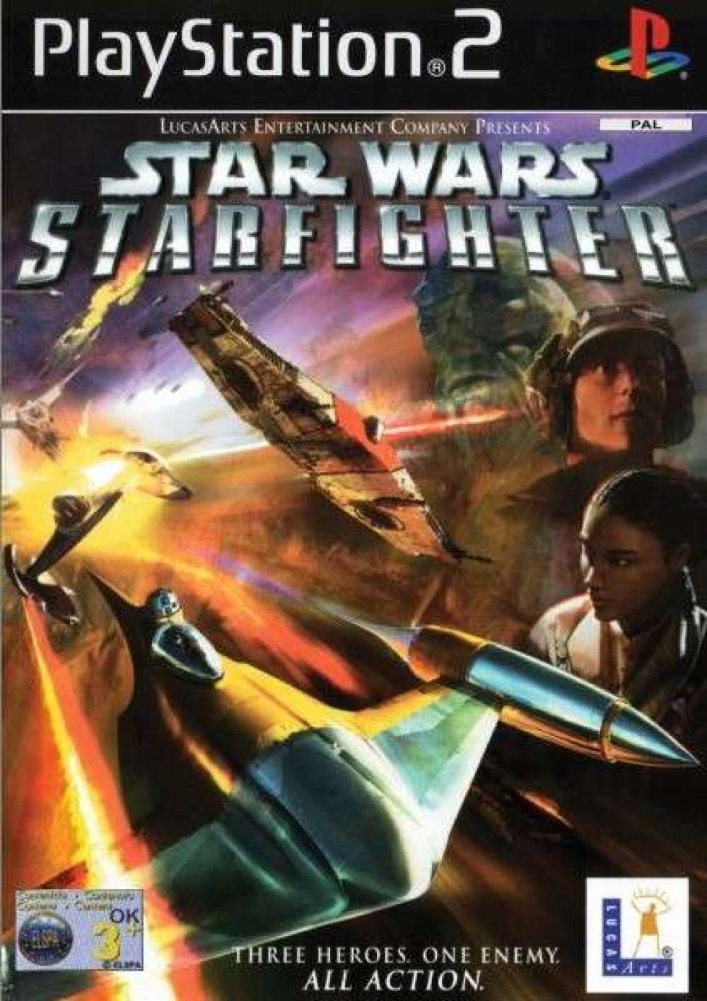Star Wars Starfighter PS2