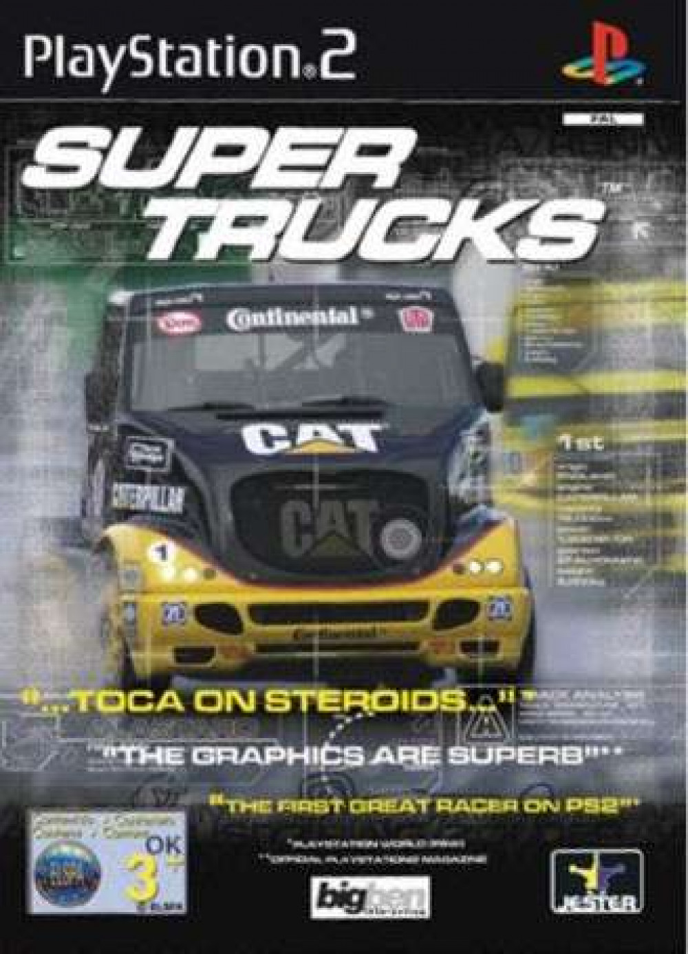 Super Trucks PS2