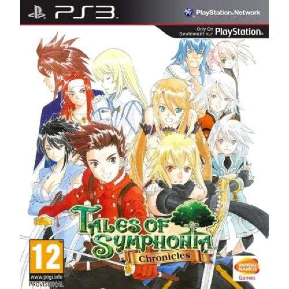 PS3 Tales of Symphonia Chronicles