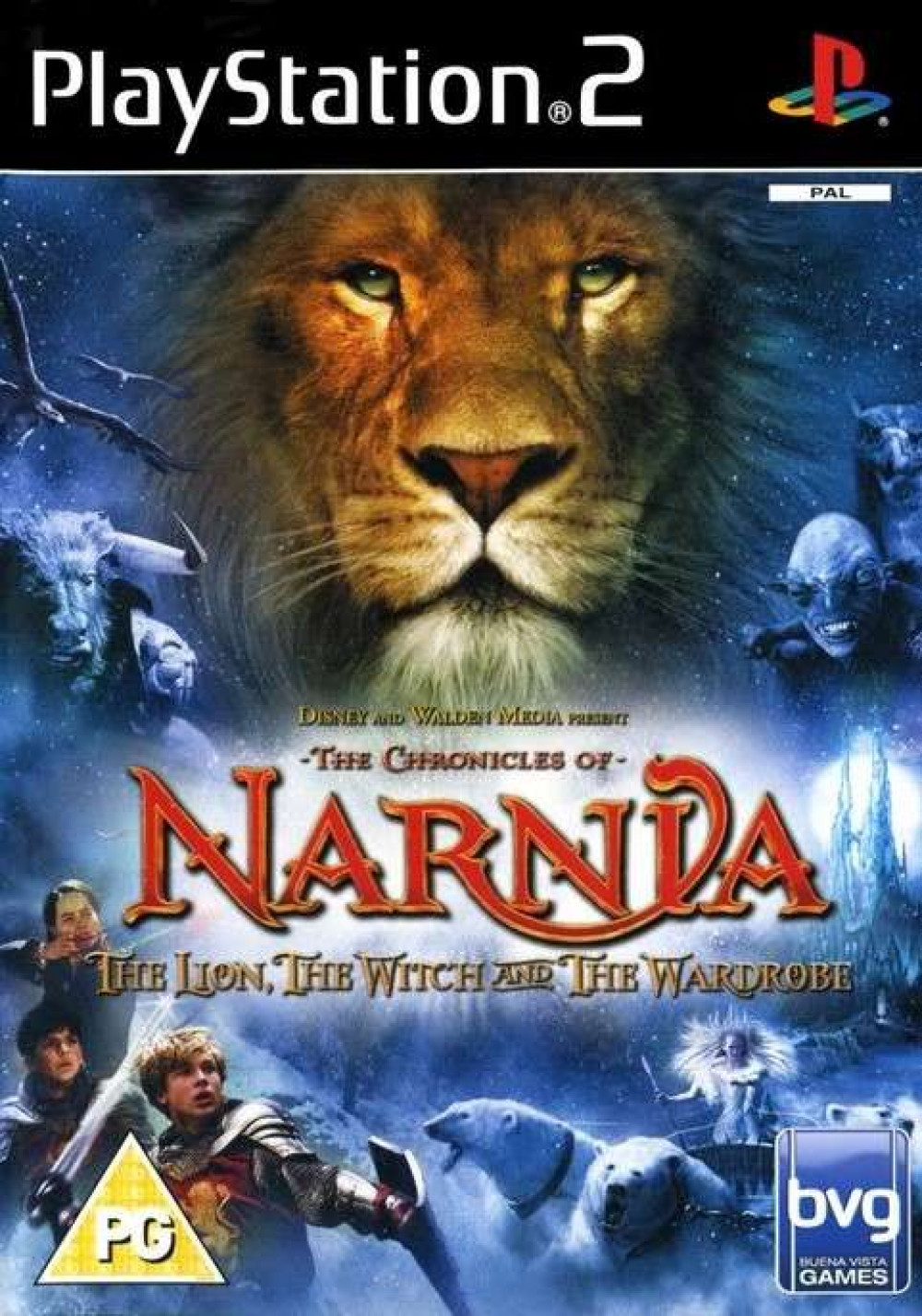The Chronicles of Narnia The Lion, The Witch and The Wardrobe PS2