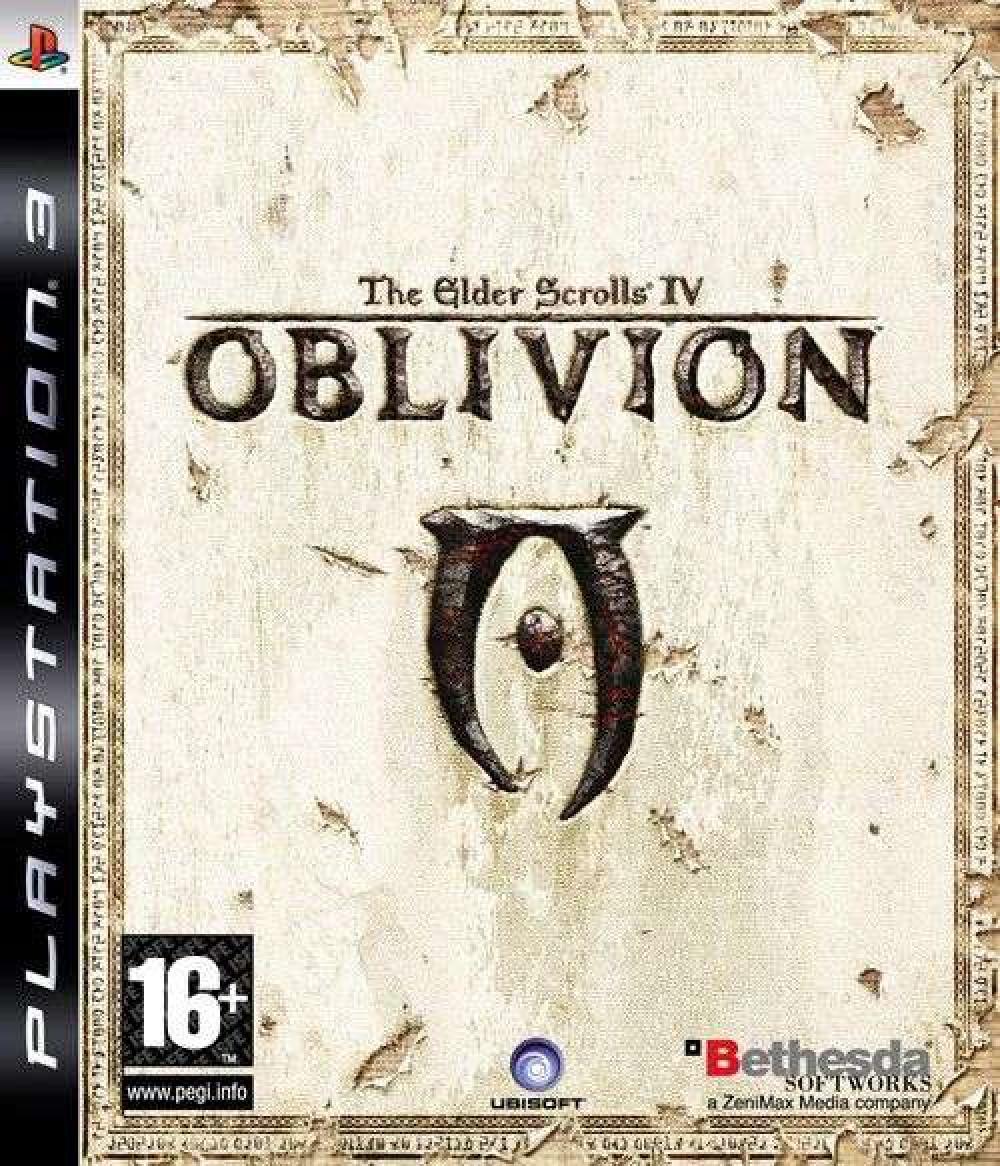 The Elder Scrolls IV (4) Oblivion PS3