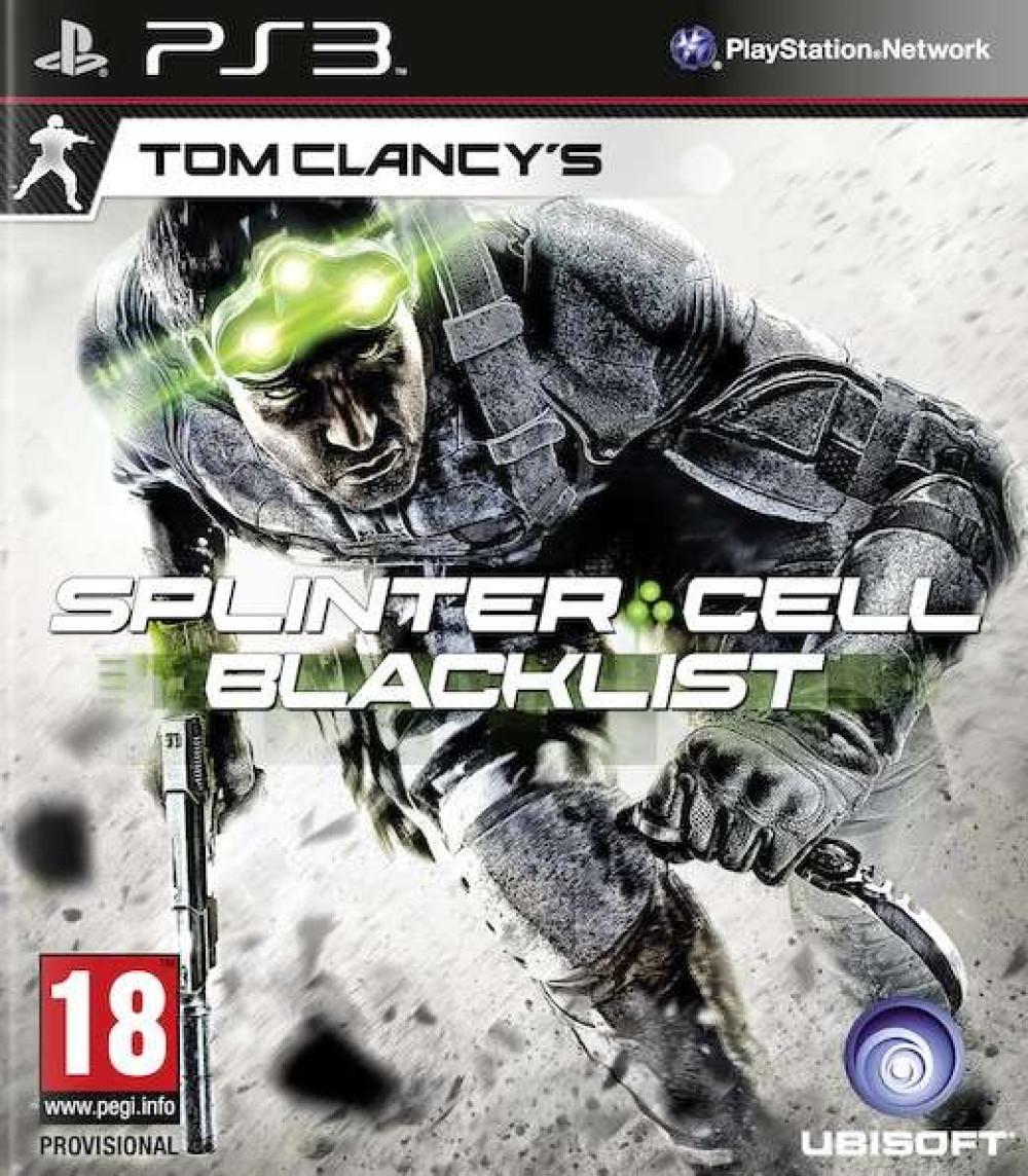 PS3 TOM CLANCY'S SPLINTER CELL BLACKLIST