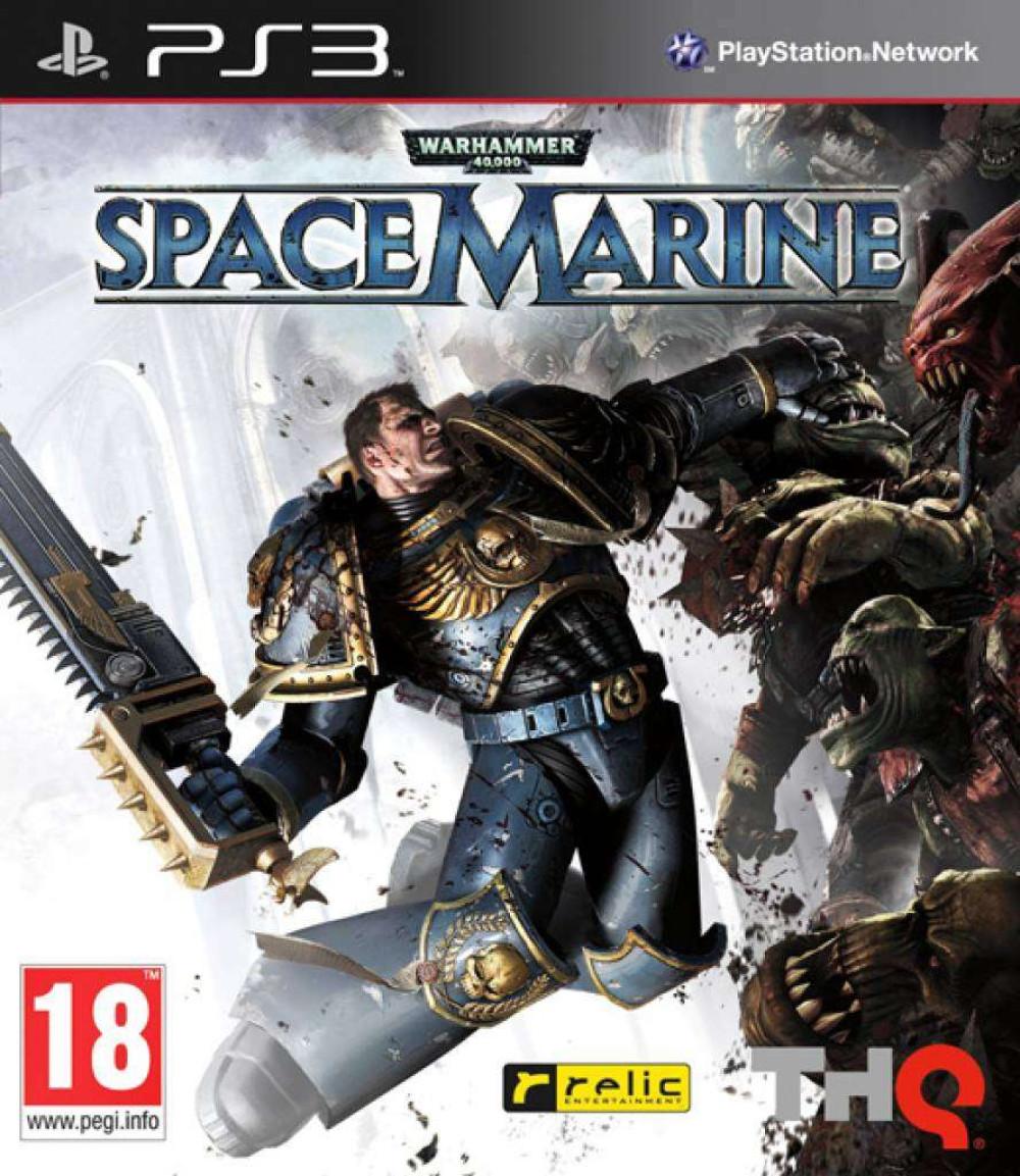 PS3 WARHAMMER 40000 SPACE MARINE