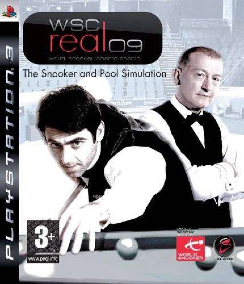 PS3 WSC Real 09 World Snooker Championship