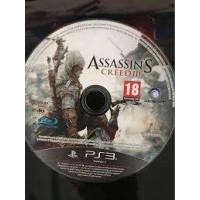 PS3 ASSASSIN'S CREED III 3 (enkel het spel)