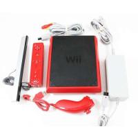 Nintendo Wii Mini Console (rood) + Controller Motionplus inside + Nunchuck