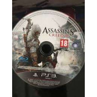 PS3 ASSASSIN'S CREED III 3 (seulement le disque)