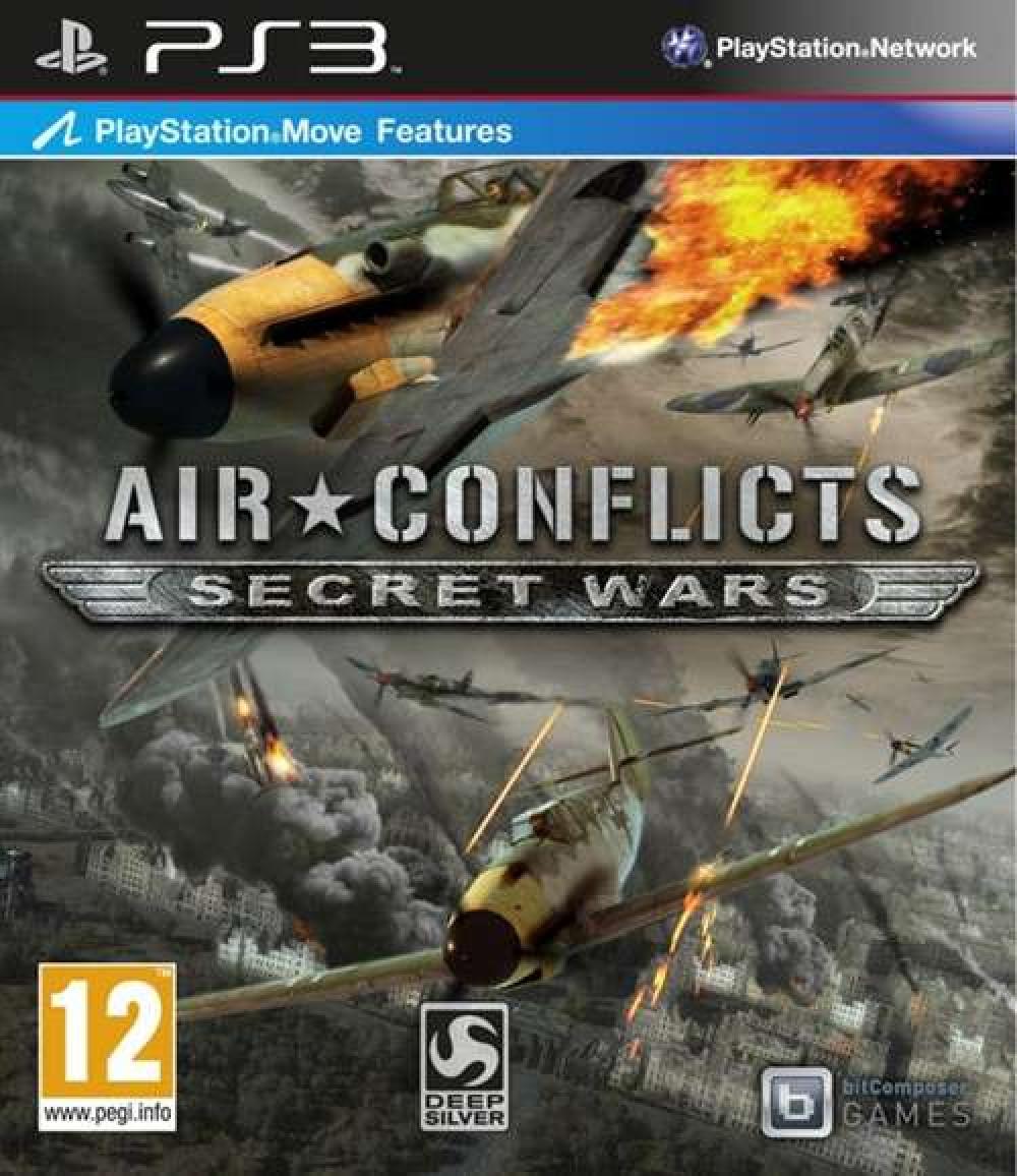 PS3 Air Conflicts Secret Wars