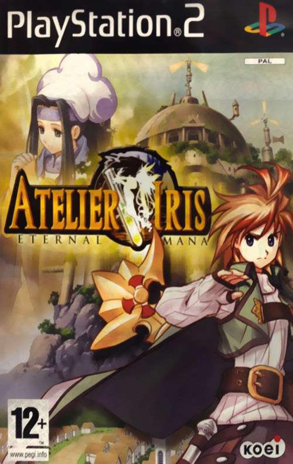 Atelier Iris Eternal Mana PS2