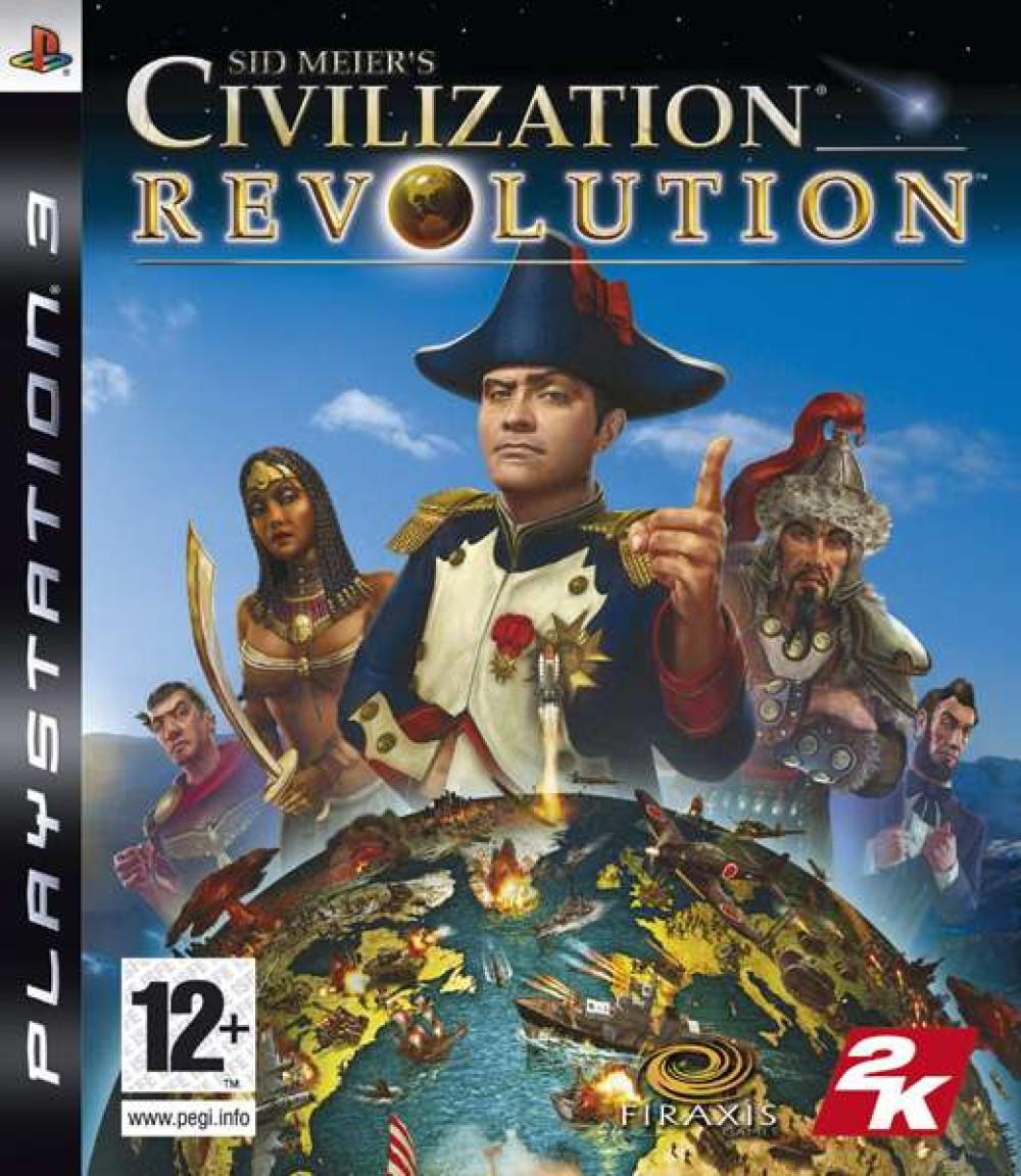 PS3 Sid Meier's Civilization Revolution