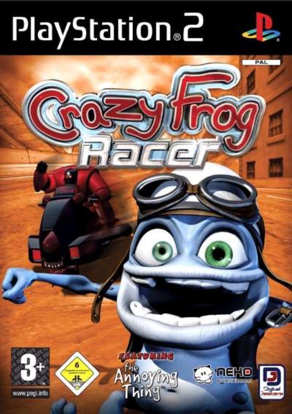 PS2 CRAZY FROG RACER