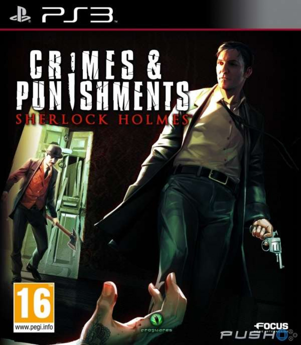 Crimes & Punishments Sherlock Holmes PS3
