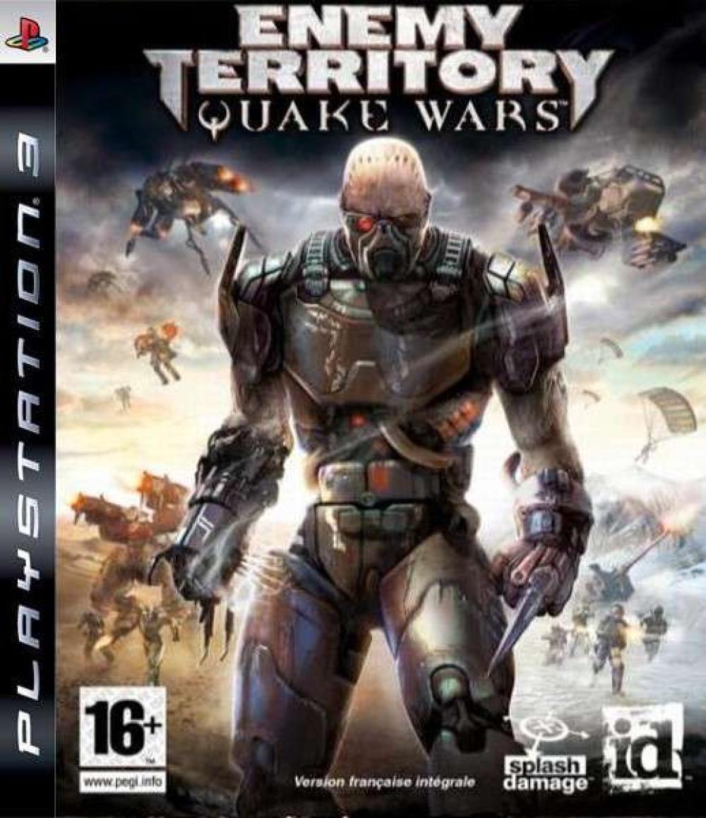 PS3 ENEMY TERRITORY QUAKE WARS