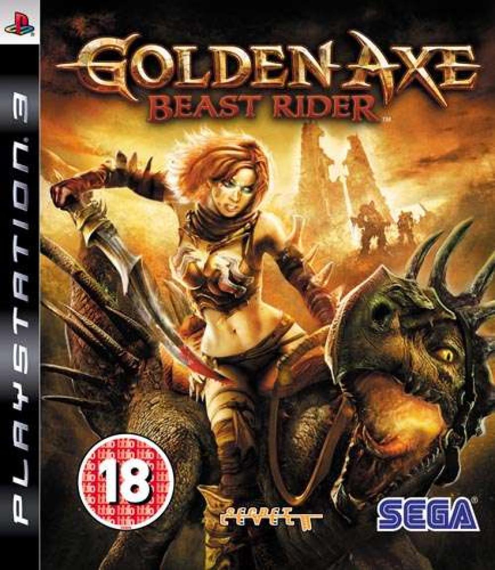 PS3 GOLDEN AXE BEAST RIDER