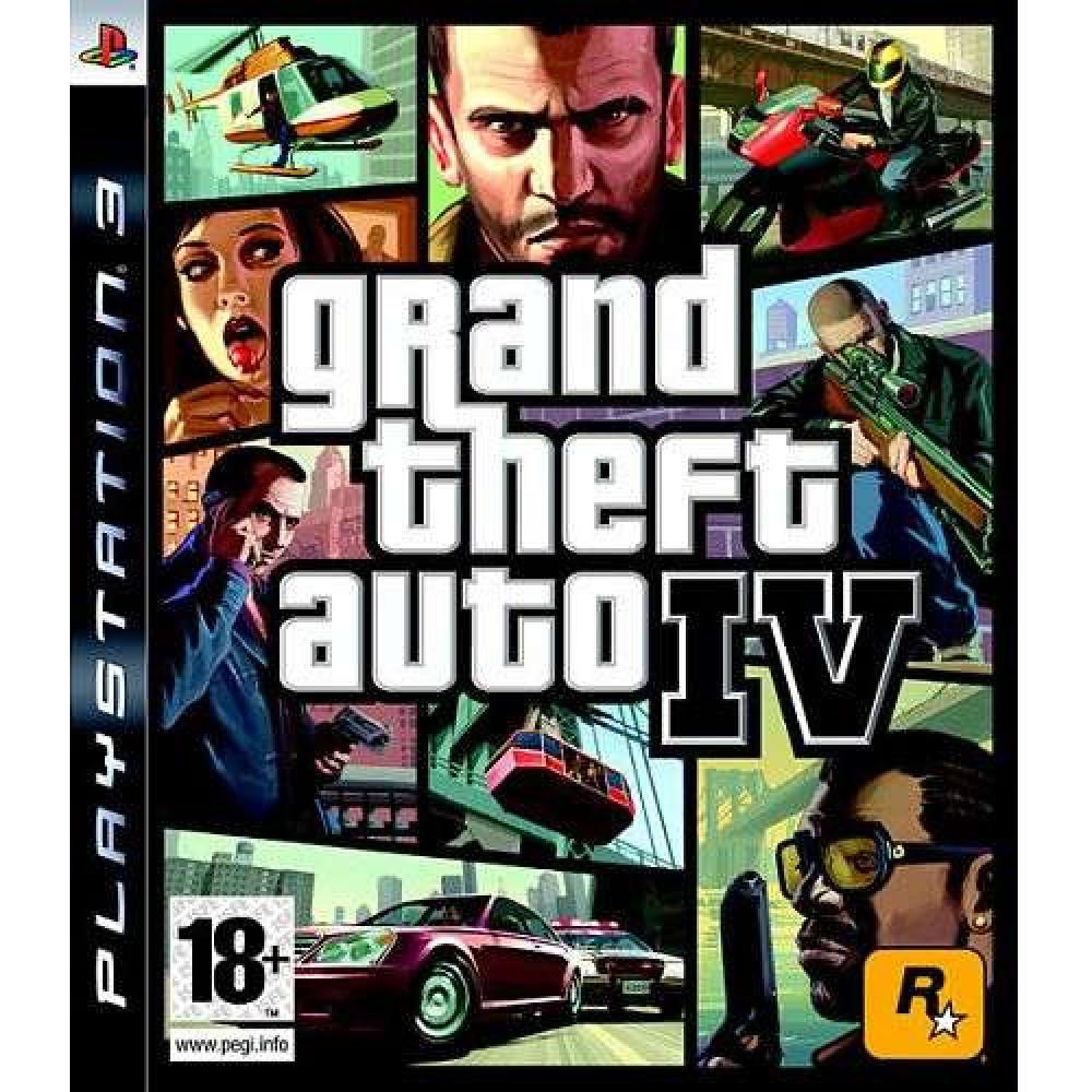 PS3 GTA GRAND THEFT AUTO 4 GTA IV