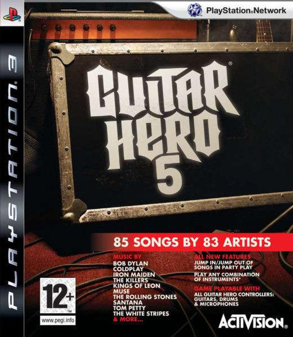 PS3 GUITAR HERO 5