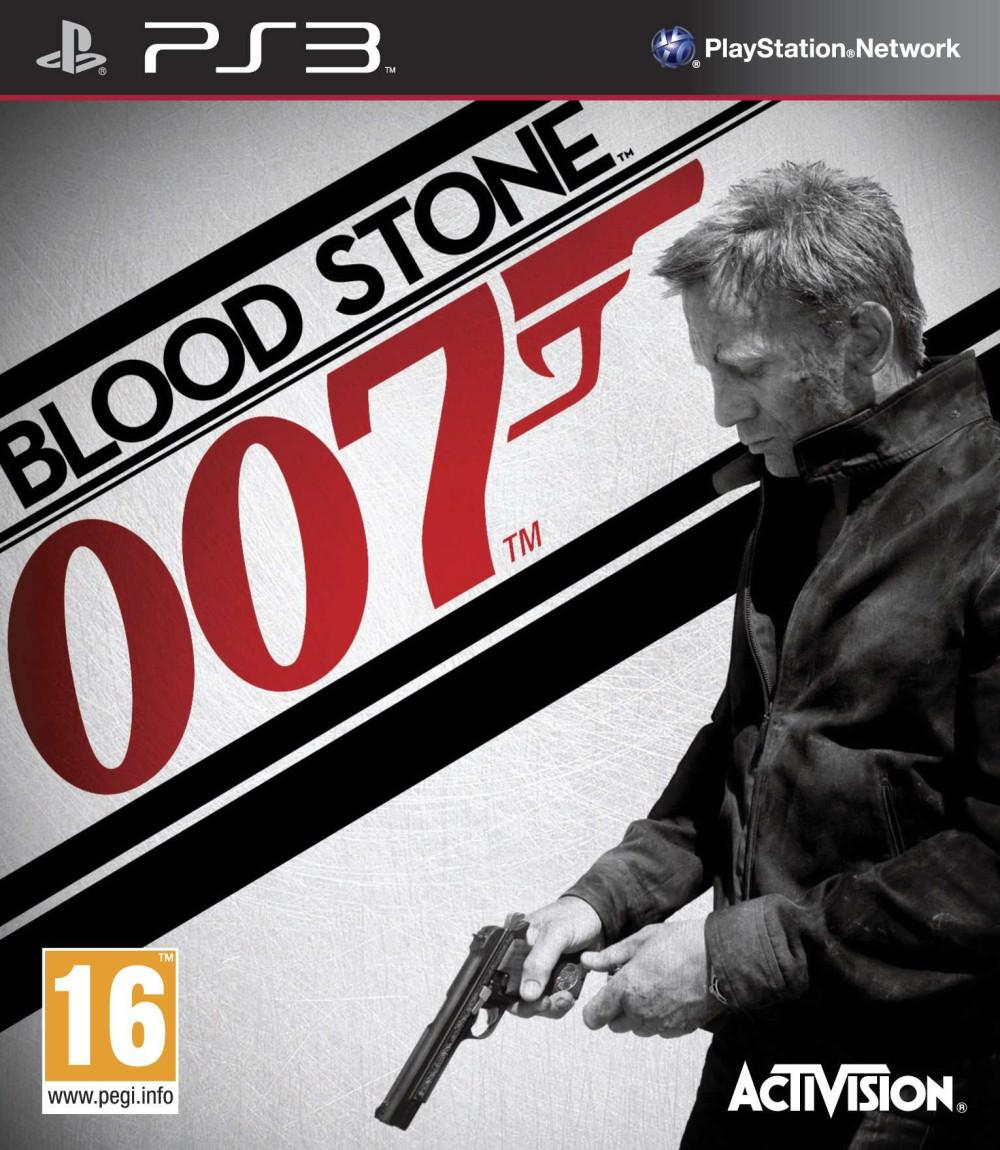 PS3 James Bond 007 BLOOD STONE BLOODSTONE