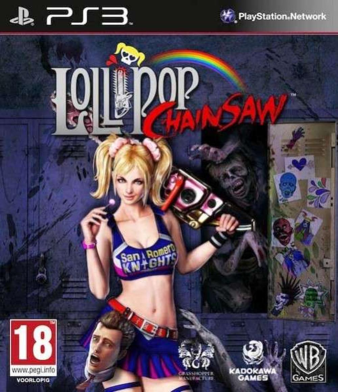 PS3 LOLLIPOP CHAINSAW
