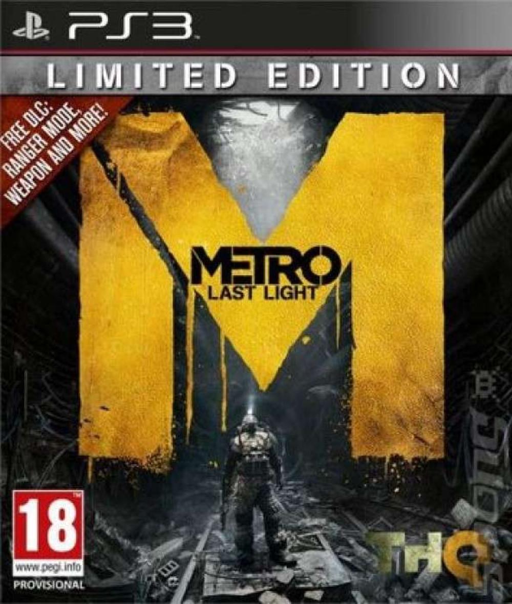 PS3 METRO LAST LIGHT LIMITED EDITION