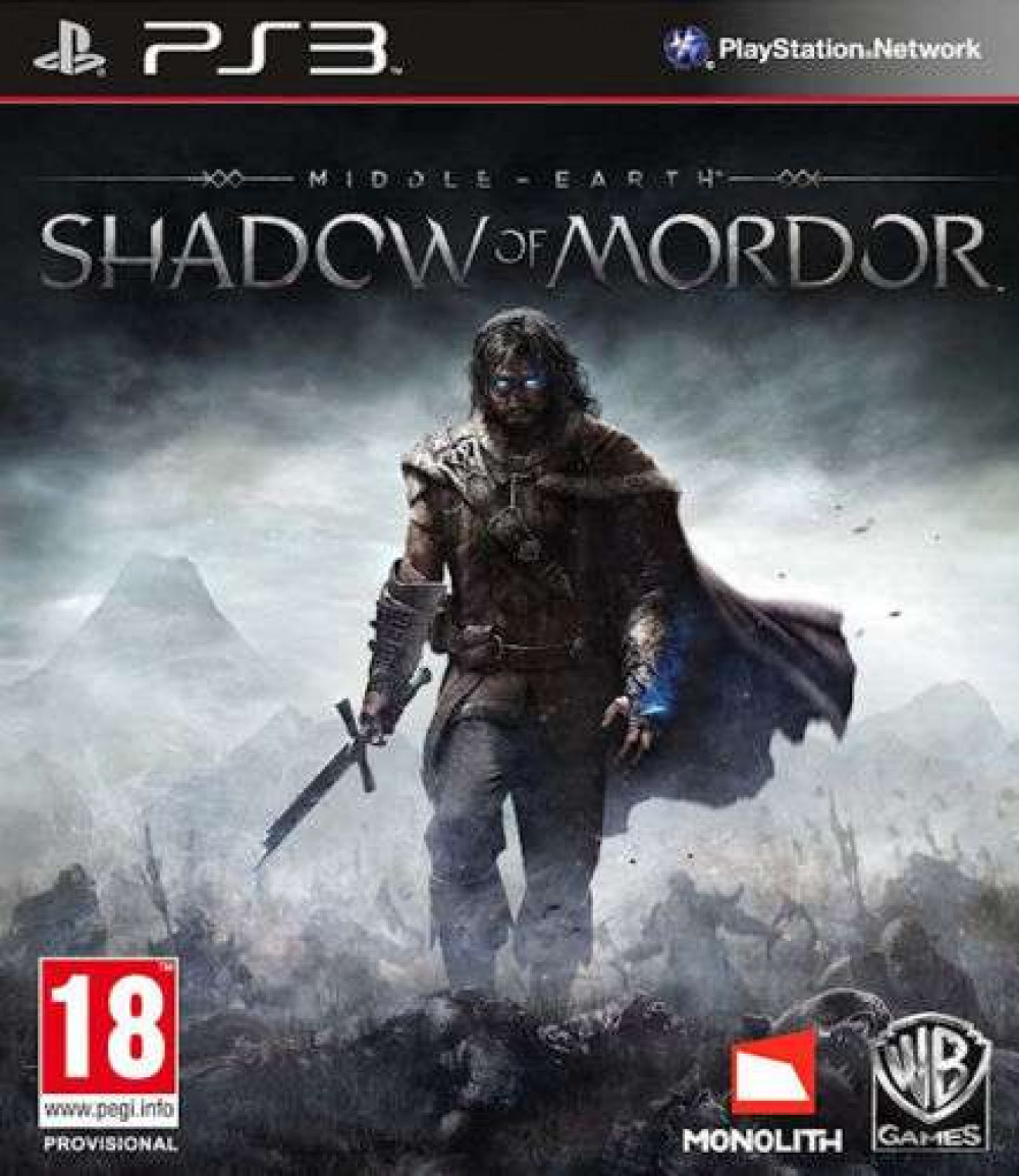 PS3 Middle-Earth Shadow of Mordor