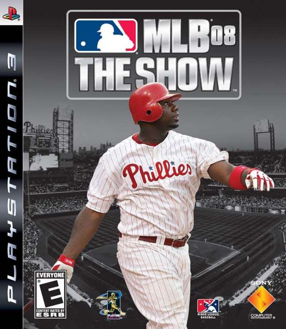 PS3 MLB 08 THE SHOW Major Lague Baseball 08 The Show