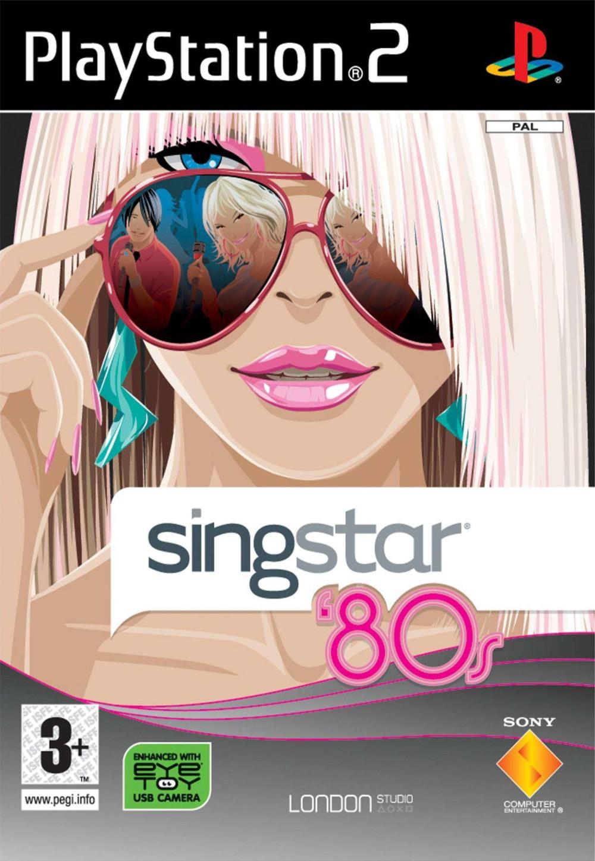 PS2 Singstar '80s