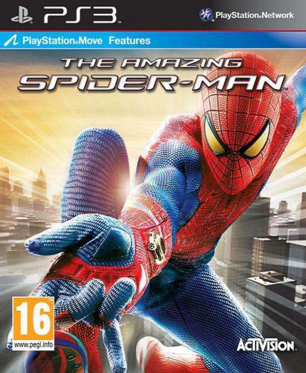 PS3 The Amazing Spider-Man