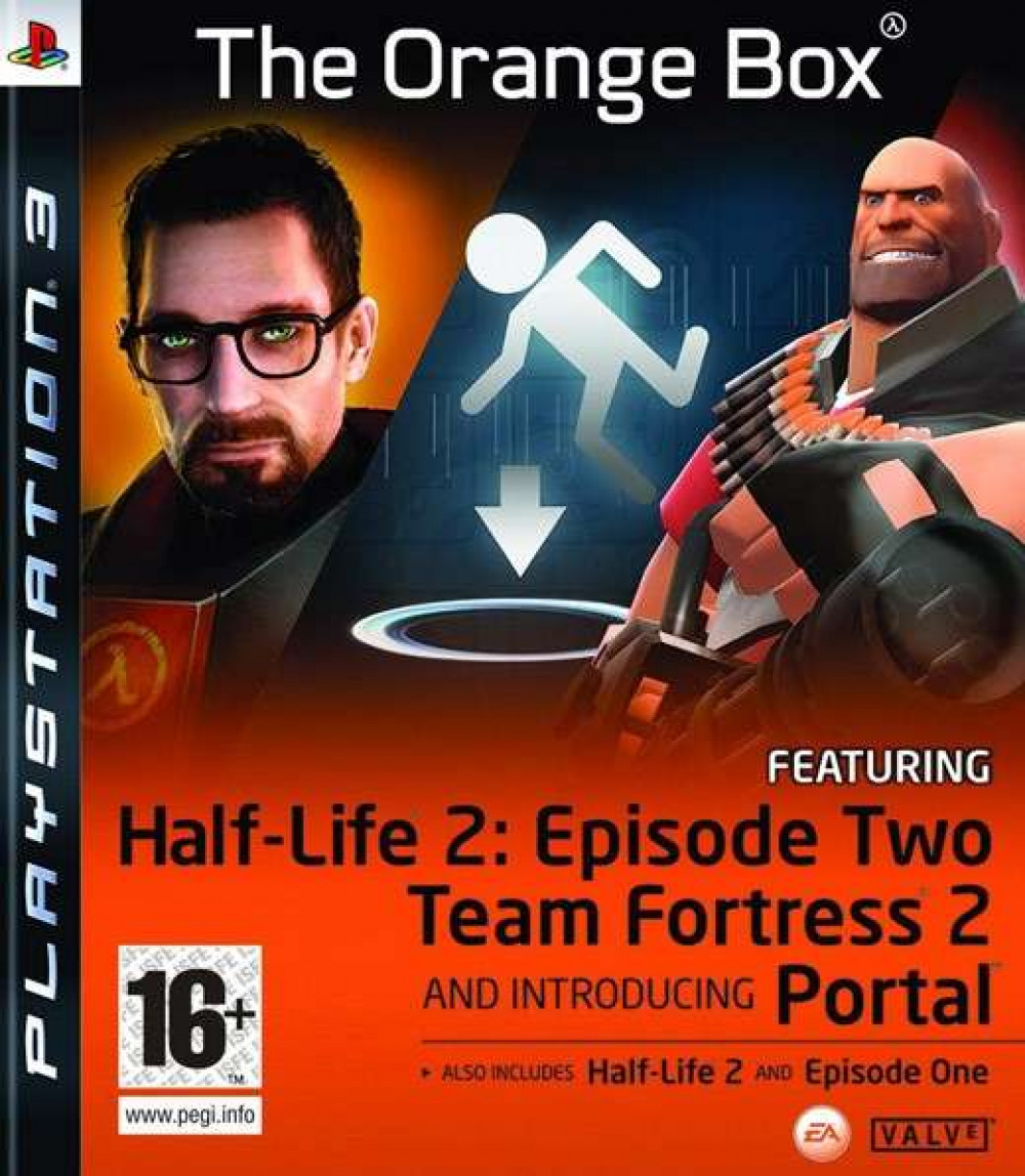 PS3 THE ORANGE BOX Half Life 2 Episode 1 & 2