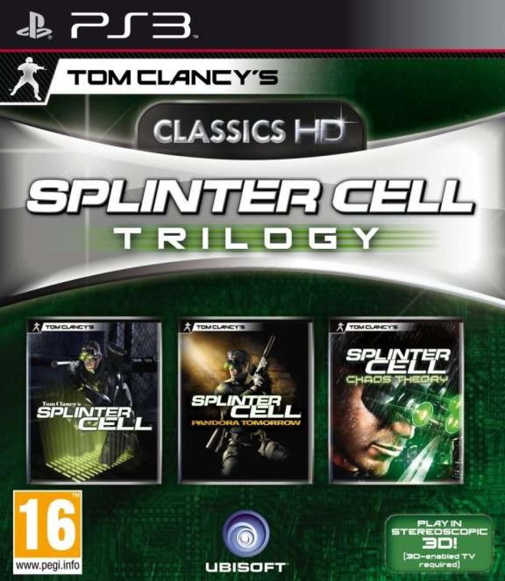 PS3 TOM CLANCY'S SPLINTER CELL TRILOGY