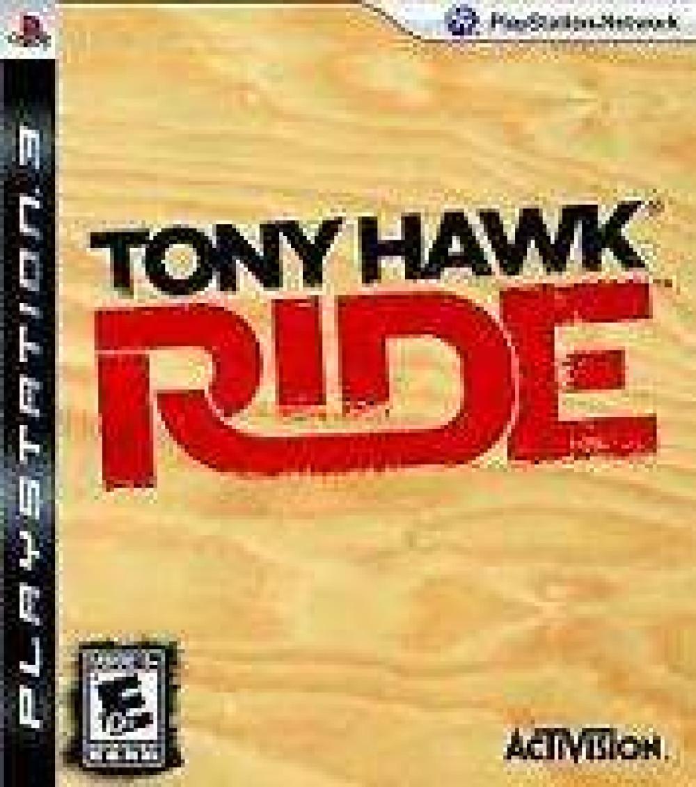 PS3 Tony Hawk Ride