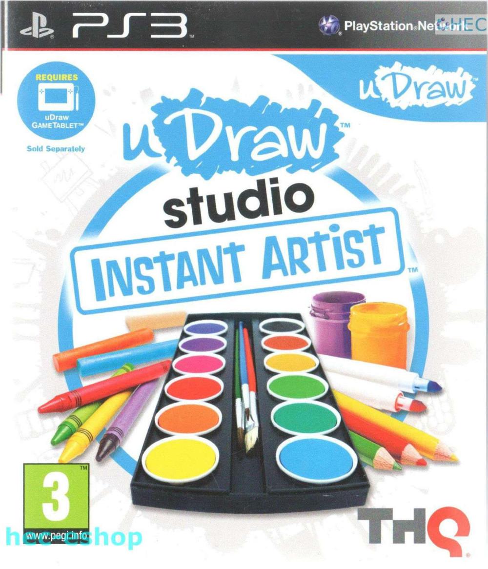 PS3 U Draw Studio Instant Artist