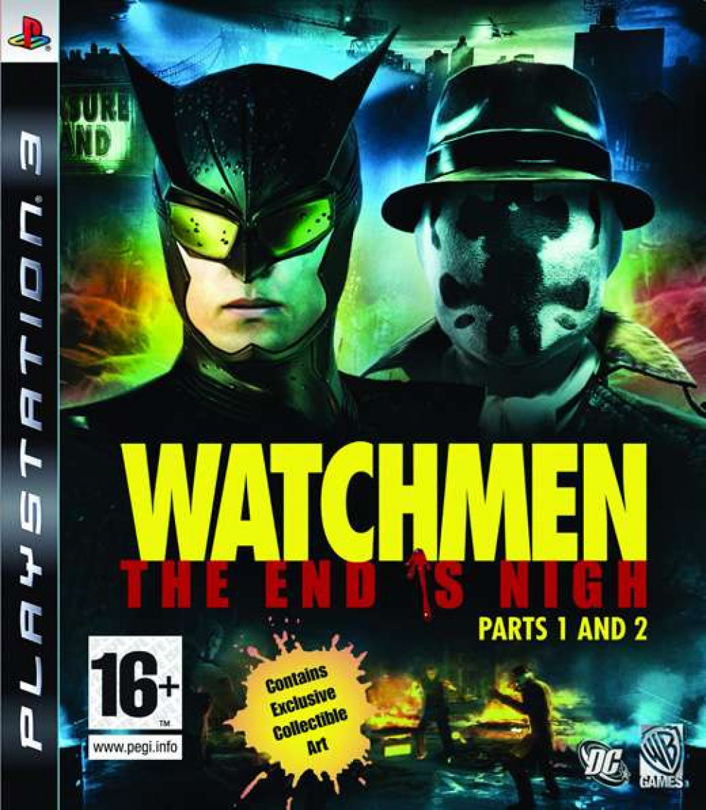 PS3 Watchmen The End Is Nigh