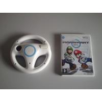 Wii Mario Kart + Racestuur