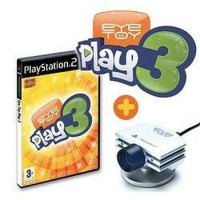 PS2 EyeToy Play 3 with camera
