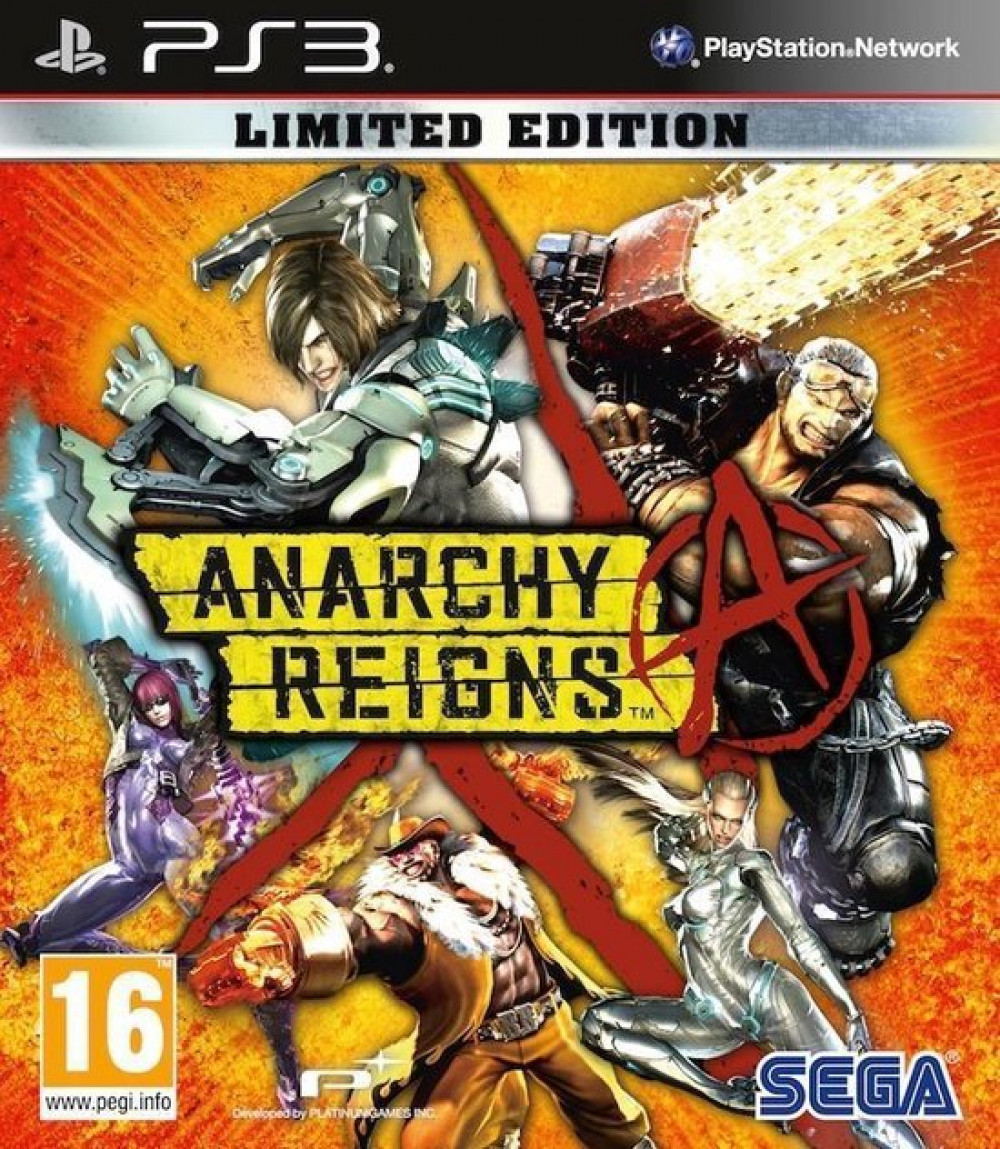 PS3 Anarchy Reigns Limited Edition
