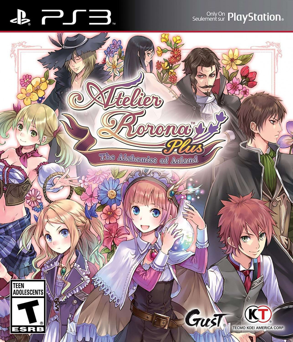 PS3 Atelier Rorona Plus The Alchemist of Arland