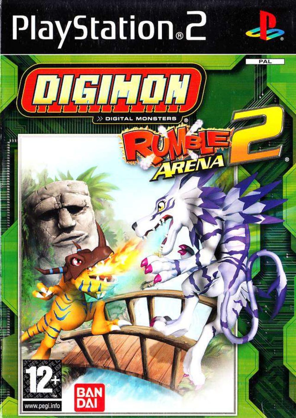PS2 Digimon Rumble Arena 2