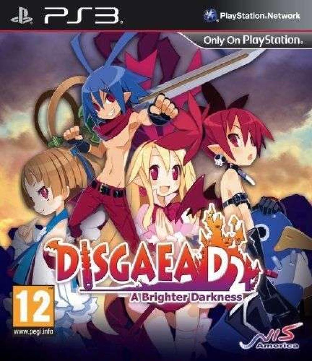 PS3 DISGAEA D2 A BRIGHTER DARKNESS