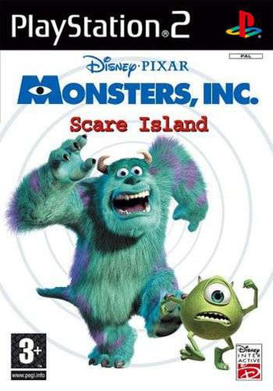 PS2 Disney Pixar MONSTERS, INC. Scare Island