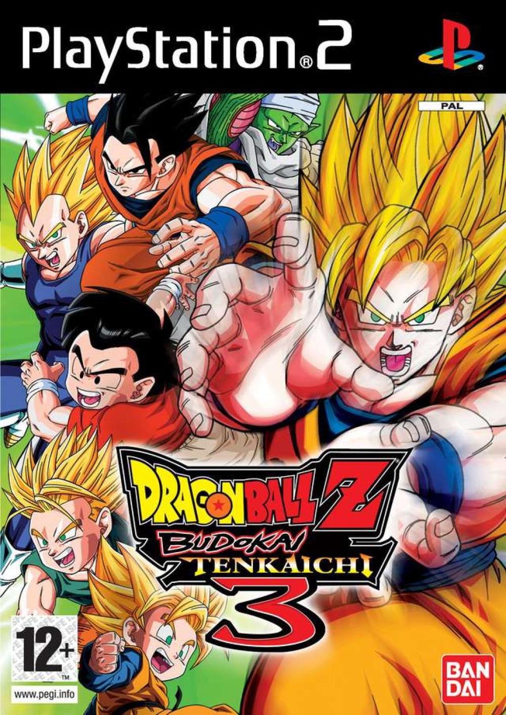 PS2 Dragon Ball Z Budokai Tenkaichi 3