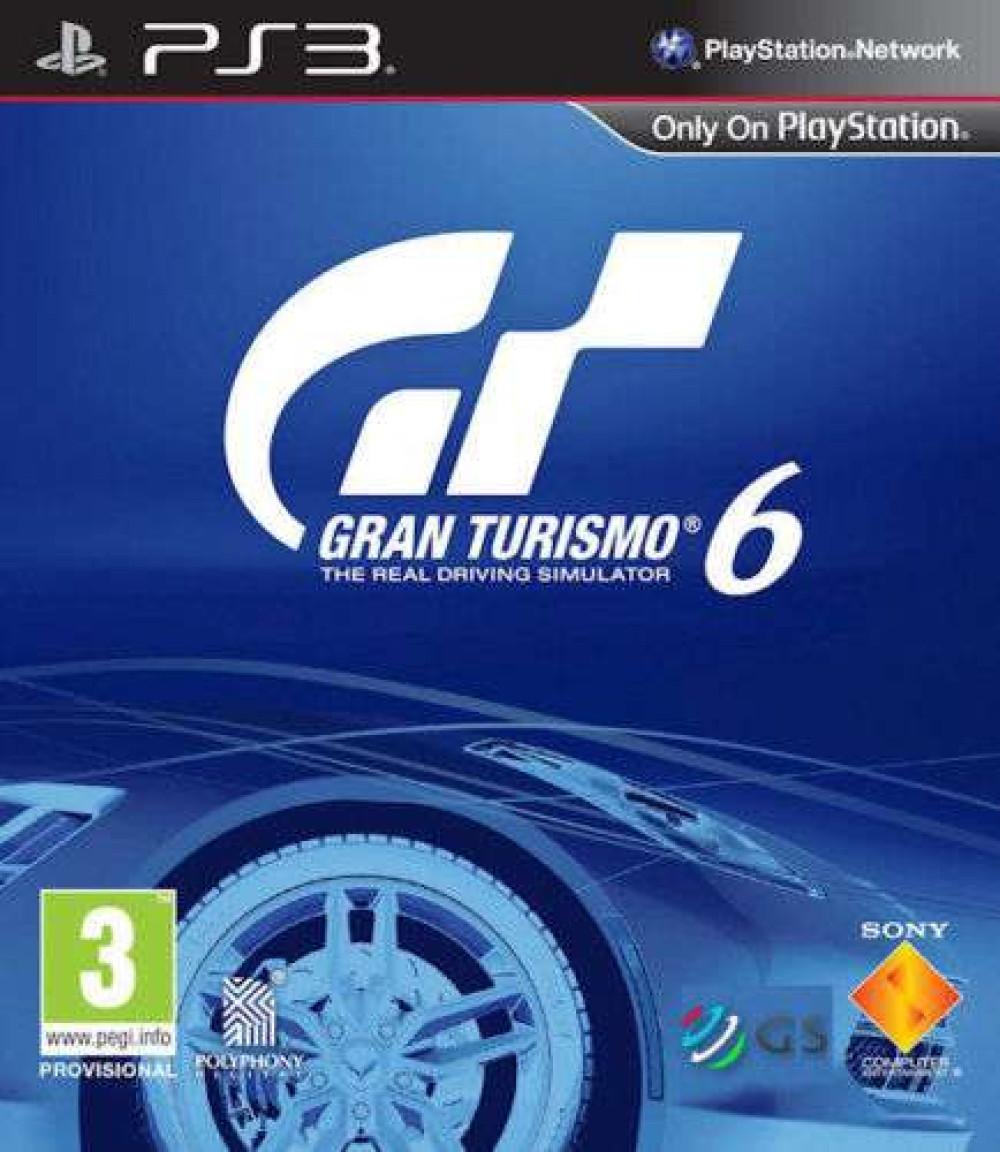 PS3 GT6 GRAN TURISMO 6