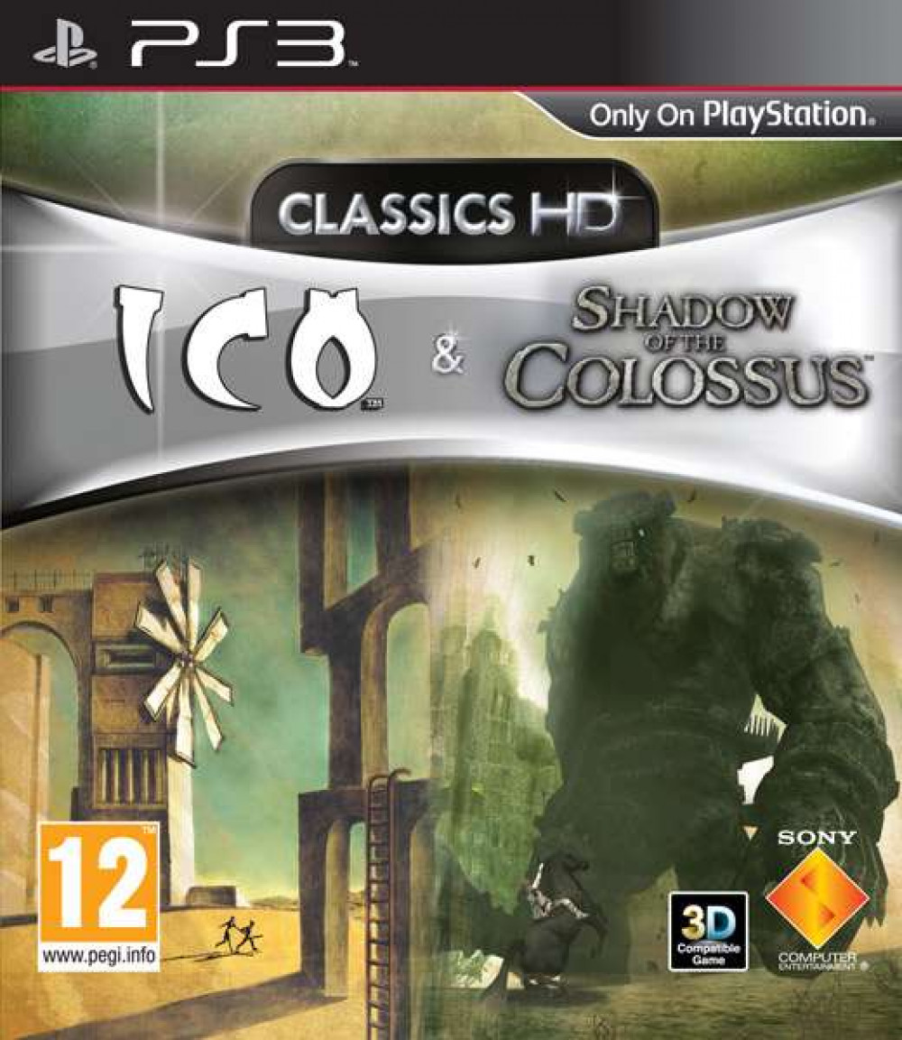 PS3 ICO & SHADOW OF THE COLOSSUS Classic HD