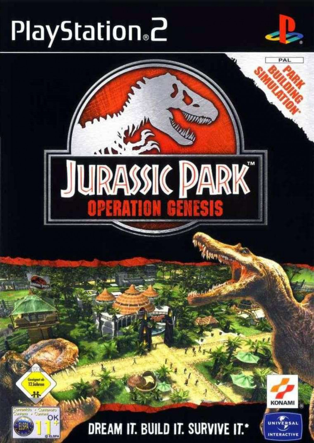 PS2 JURASSIC PARK Operation Genesis