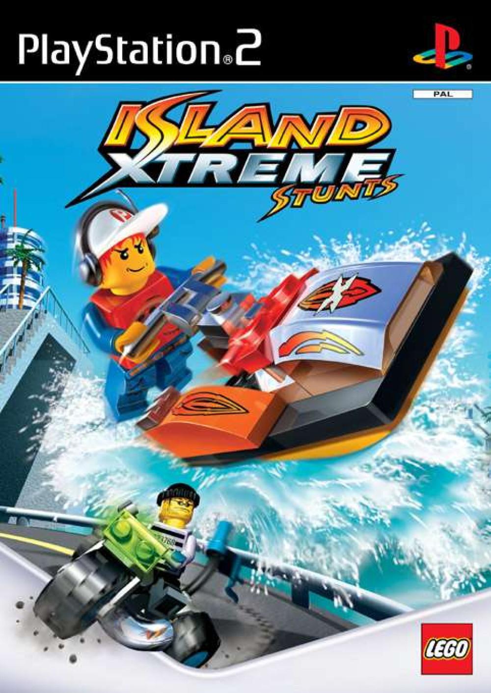 PS2 Lego Island Xtreme Stunts