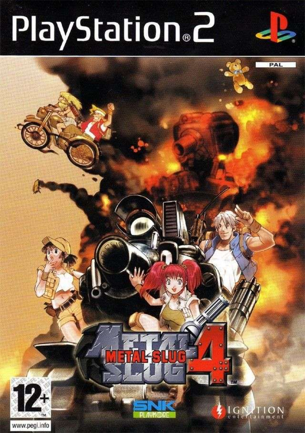 Metal Slug 4 PS2