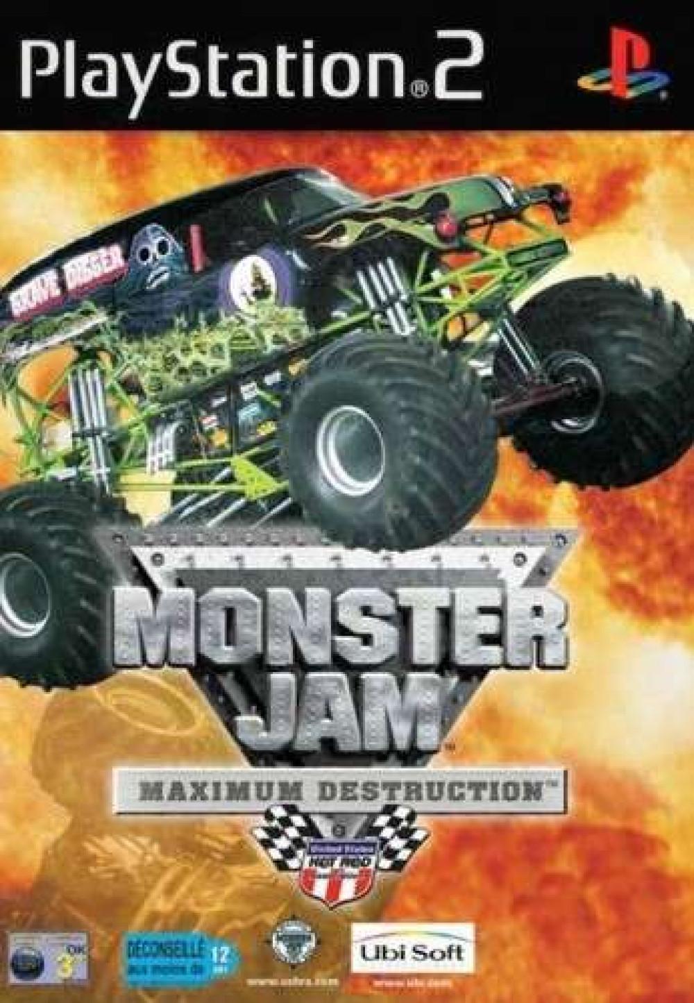 Monster Jam Maximum Destruction PS2