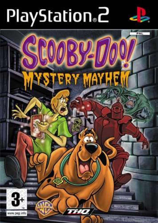 PS2 Scooby-Doo! Mystery Mayhem