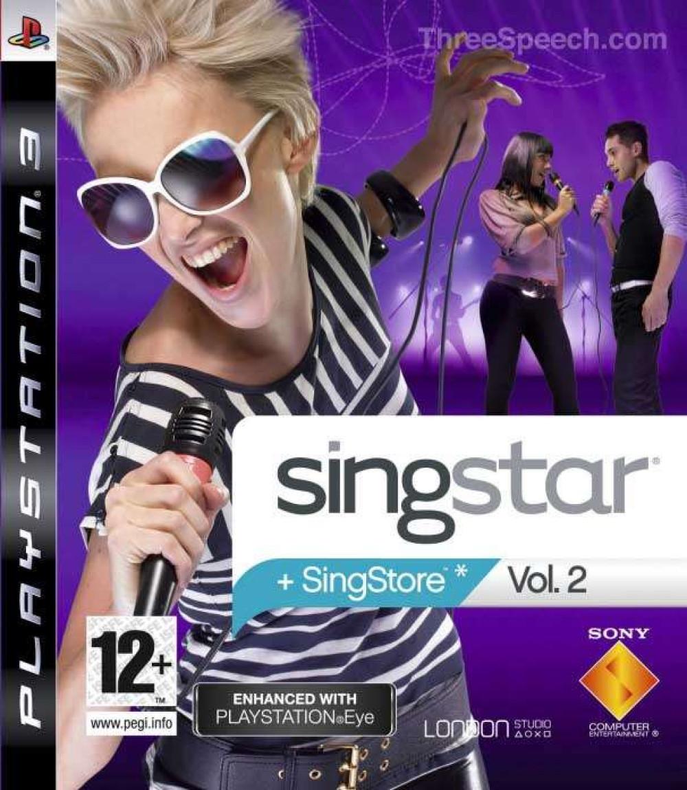 PS3 SINGSTAR Singstore Volume Vol 2